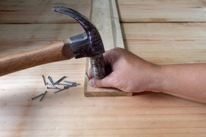 Hammer and Nail Injuries