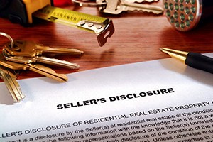 Real estate homeowner seller property disclosure condition statement