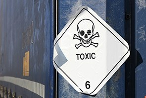Pictogram of chemical hazard toxic substances